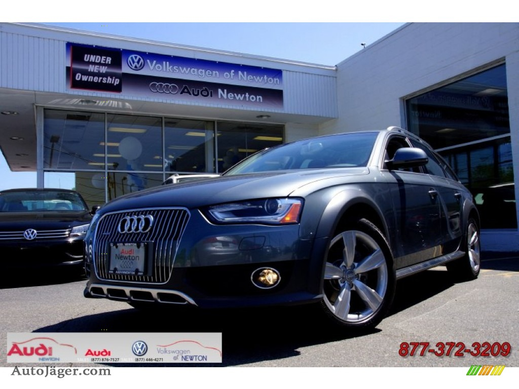 Monsoon Grey Metallic / Black Audi Allroad 2.0T quattro Avant