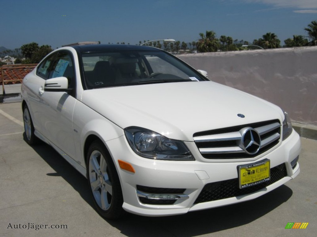 2012 mercedes benz c 250 coupe in arctic white photo 5 for Simonson mercedes benz