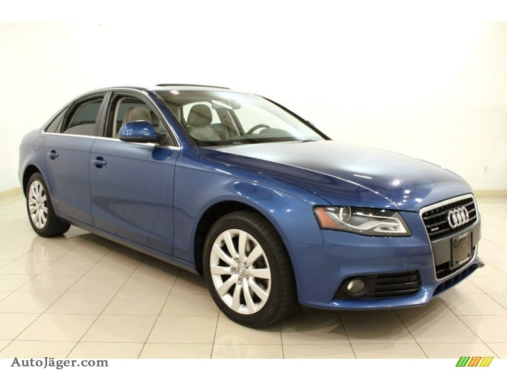 2009 audi a4 3 2 quattro sedan in aruba blue pearl effect. Black Bedroom Furniture Sets. Home Design Ideas