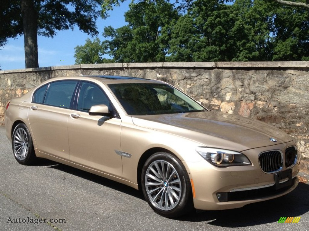 2009 bmw 7 series 750li sedan in milano beige metallic y61897 auto j ger german cars for. Black Bedroom Furniture Sets. Home Design Ideas