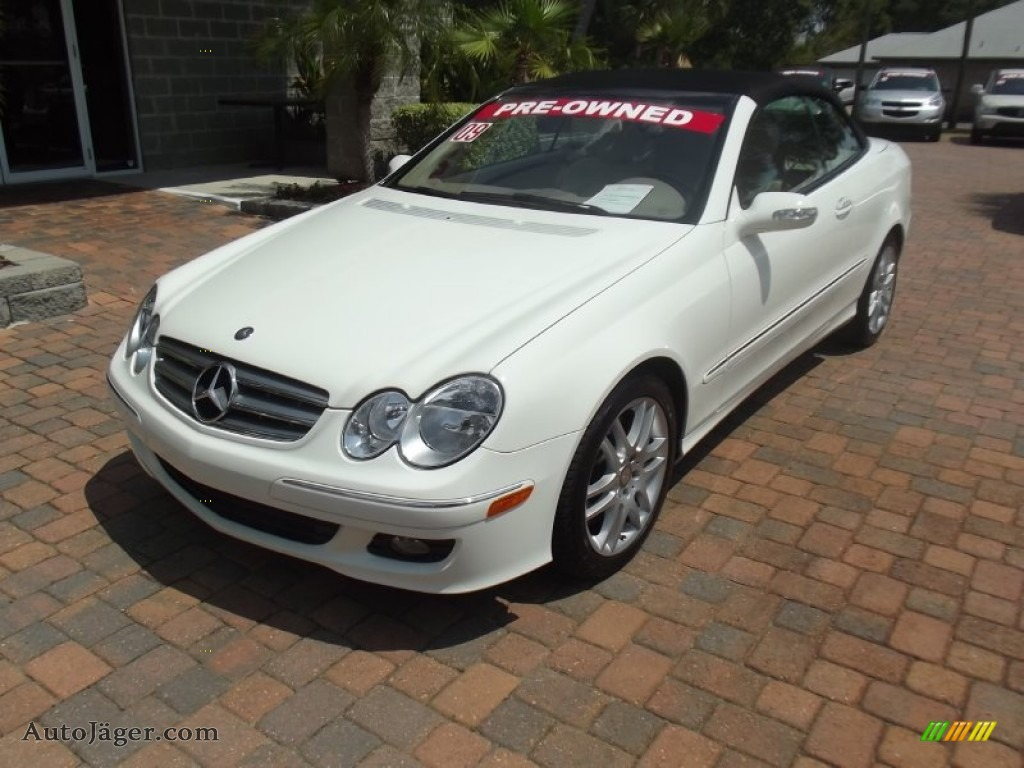 2009 mercedes benz clk 350 cabriolet in arctic white for 2009 mercedes benz clk350 for sale
