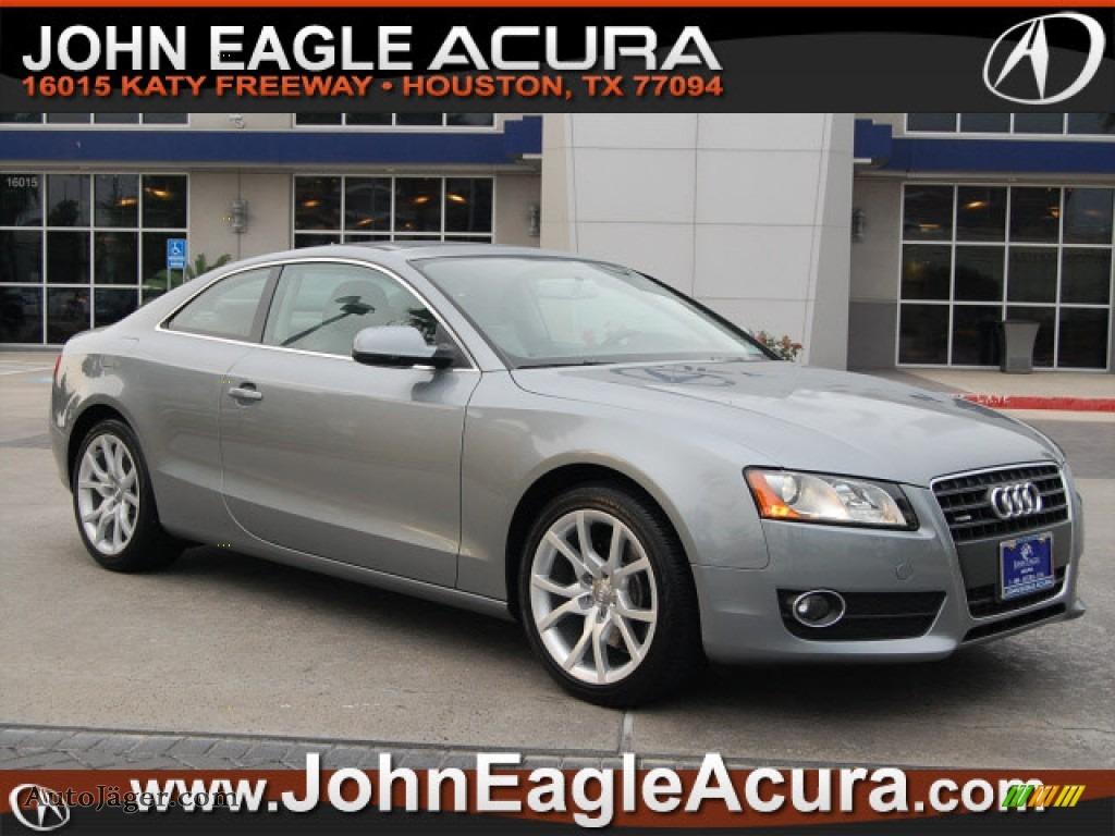 Used Cars For Sale In Houston Tx John Eagle Acura: 2010 Audi A5 2.0T Quattro Coupe In Quartz Gray Metallic