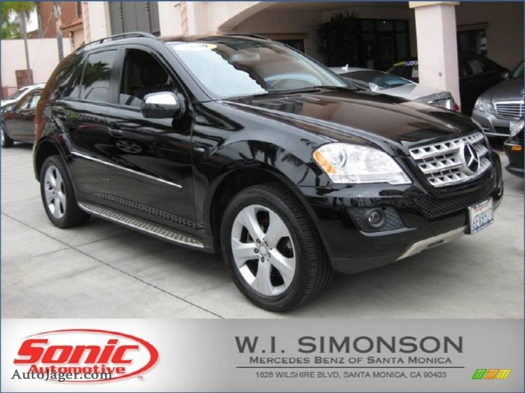 2009 mercedes benz ml 320 bluetec 4matic in black 500313 for Simonson mercedes benz