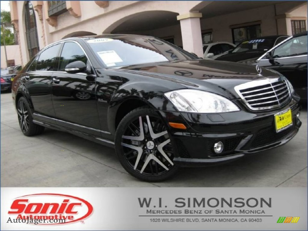 2009 mercedes benz s 63 amg sedan in black 242754 auto for Simonson mercedes benz