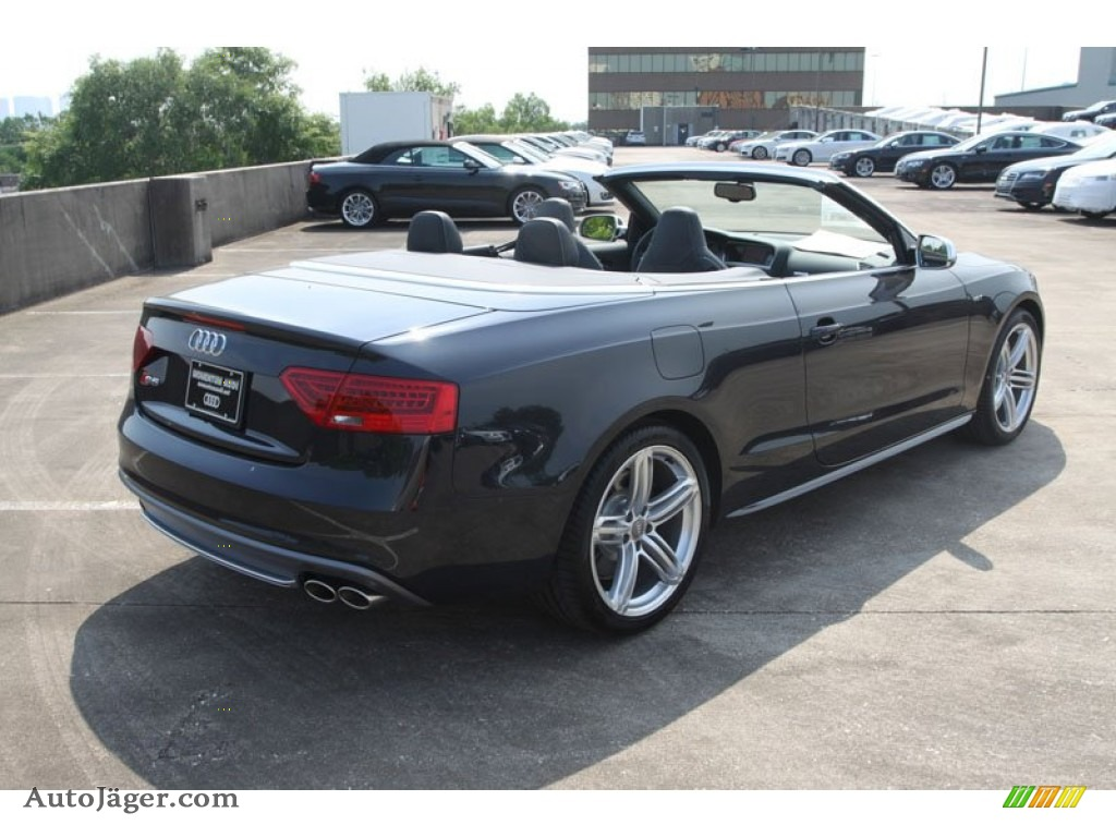 Audi S5 Convertible Black - Viewing Gallery
