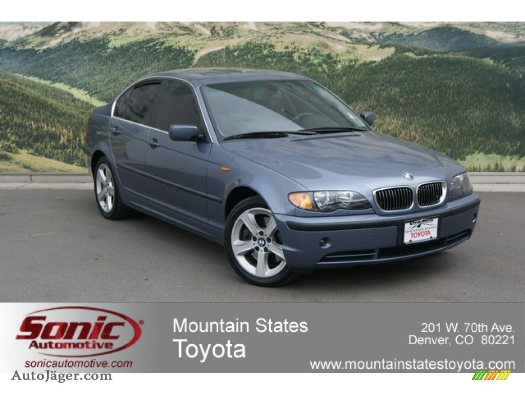 2004 bmw 3 series 330xi sedan in steel blue metallic. Black Bedroom Furniture Sets. Home Design Ideas