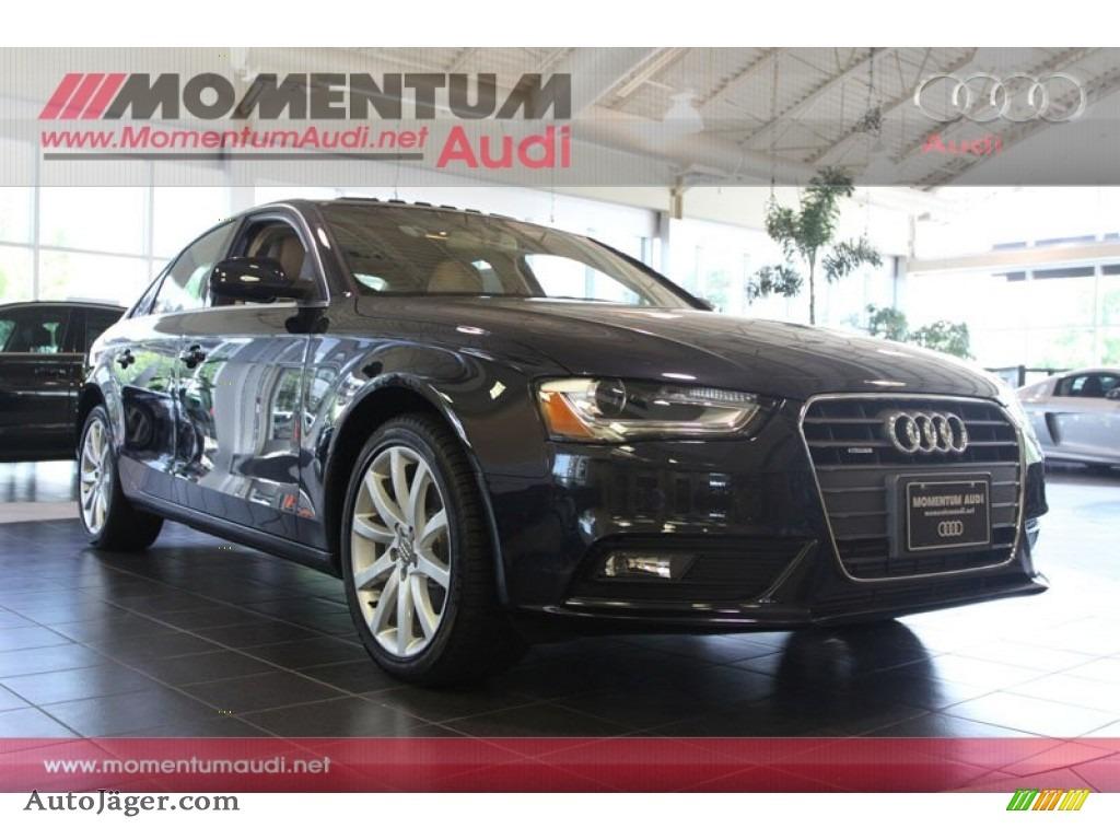 Audi Central Houston >> 2013 Audi A4 2.0T quattro Sedan in Moonlight Blue Metallic ...