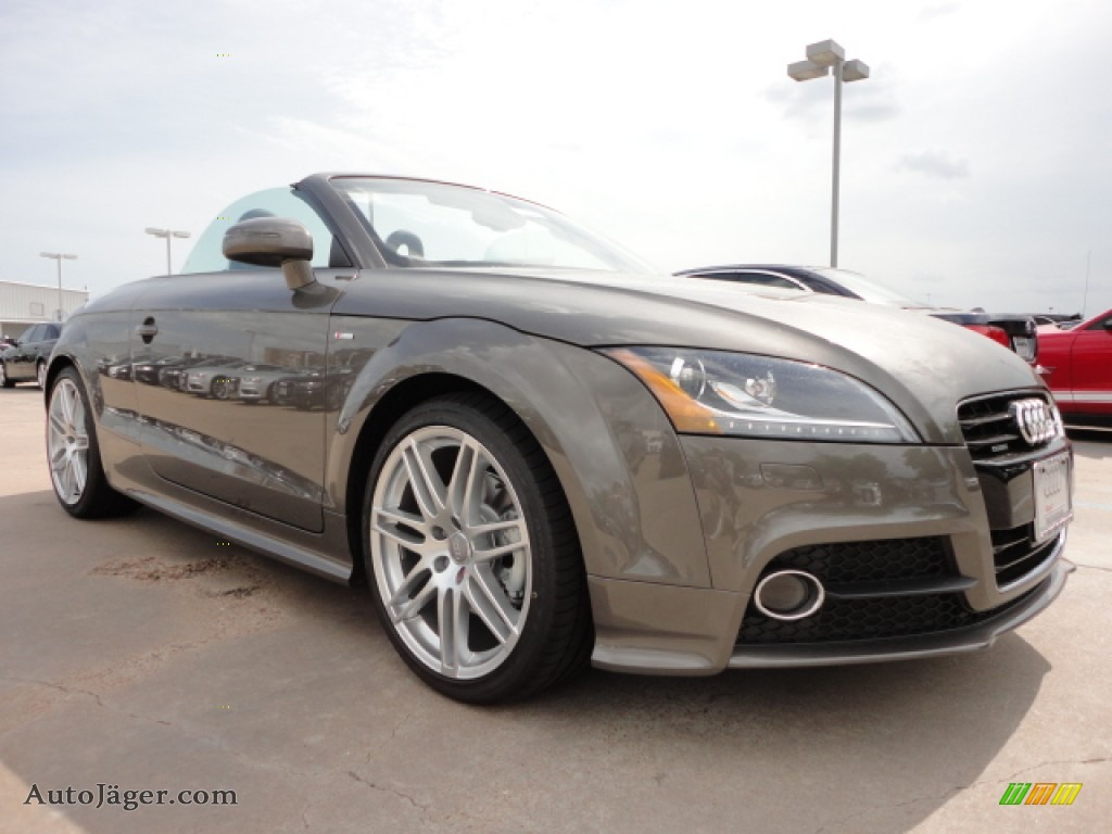 2012 Audi TT 2.0T quattro Roadster in Dakota Grey Metallic - 020386  Audi Tt Grey on 2012 bmw 528i grey, 2012 mazda 6 grey, 2012 chrysler 200 grey, 2012 bmw 335i grey, 2012 chevrolet corvette convertible grey, 2012 honda accord coupe grey, 2012 hyundai veloster grey, 2012 scion tc grey, 2012 ford fusion grey, 2012 toyota corolla grey, 2012 ford taurus grey, 2012 jeep patriot grey, 2012 jeep grand cherokee grey, 2012 dodge avenger grey, 2012 hyundai accent grey, 2012 toyota highlander grey,