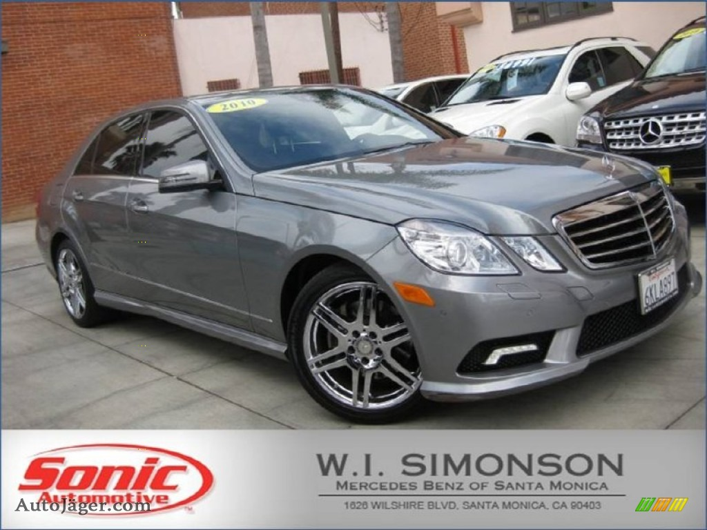 2010 mercedes benz e 350 sedan in palladium silver for Simonson mercedes benz