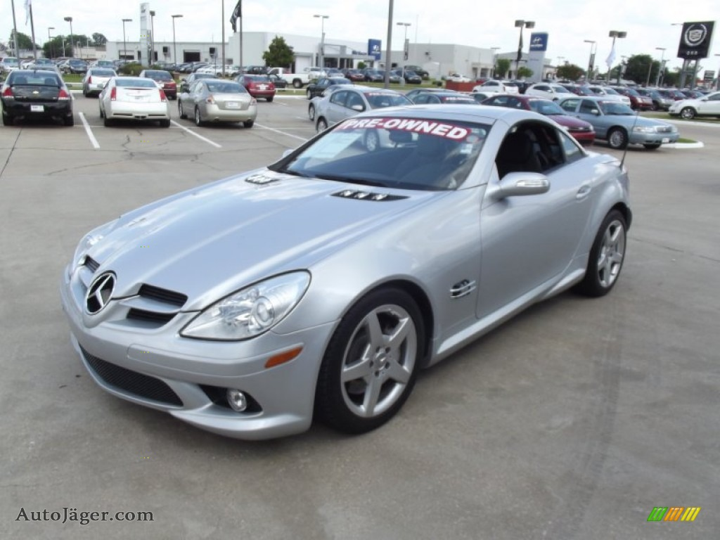 2006 mercedes benz slk 350 roadster in iridium silver for Mercedes benz slk350 for sale