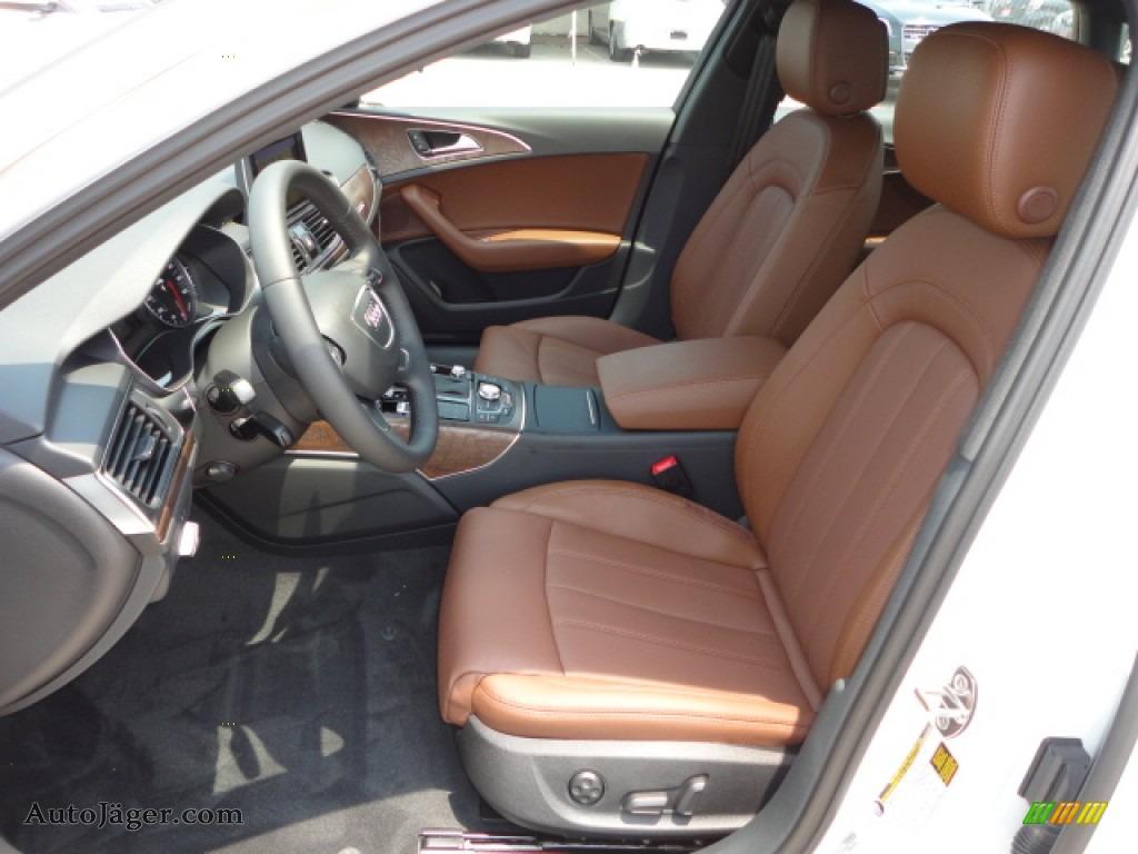 2012 Audi A6 30T quattro Sedan in Ibis White photo 6  171084
