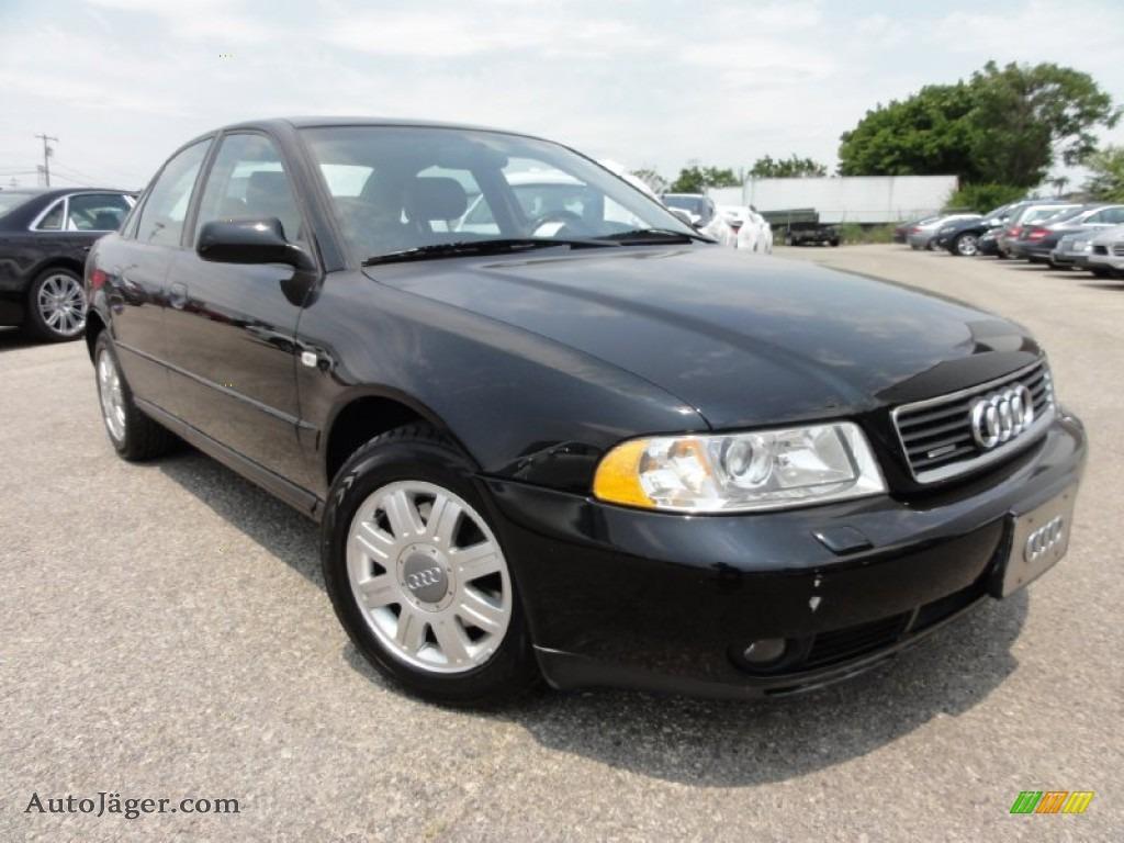 2001 audi a4 1 8t quattro sedan in brilliant black 123488 auto j ger german cars for sale. Black Bedroom Furniture Sets. Home Design Ideas