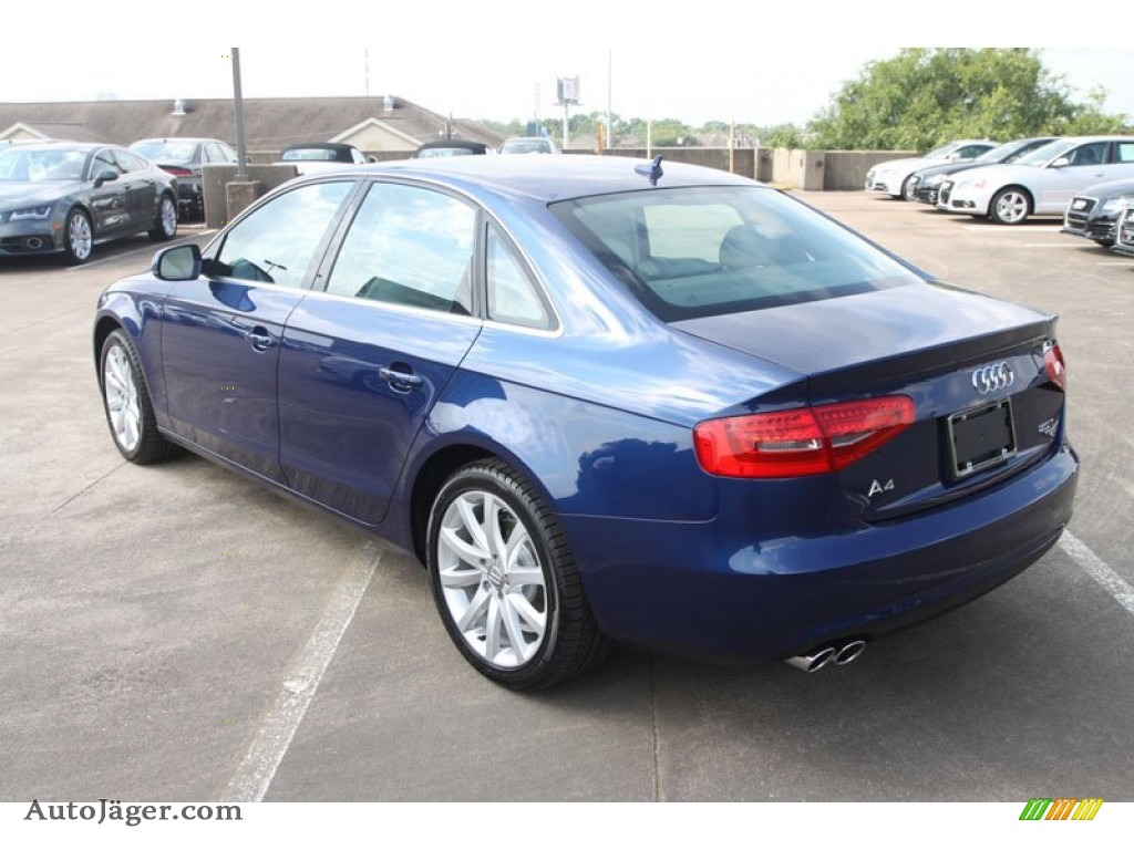 2013 a4 2 0t quattro sedan scuba blue metallic titanium gray photo 6