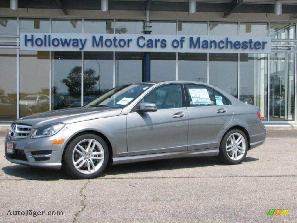 2012 mercedes benz c 300 sport 4matic in palladium silver for Holloway motor cars manchester
