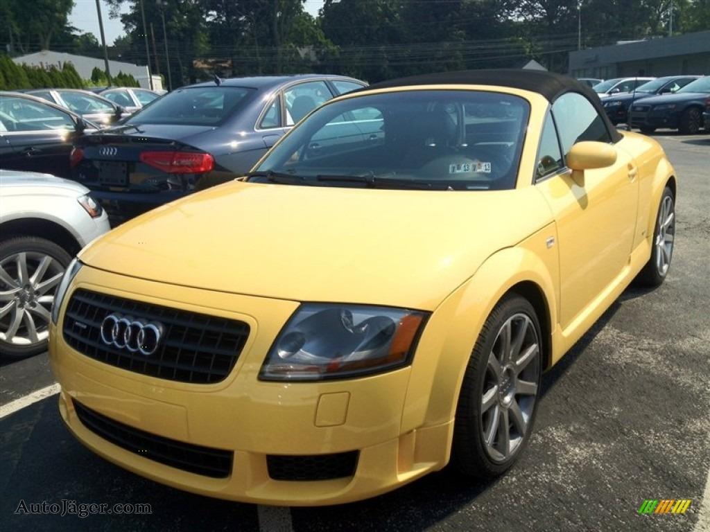 2004 Audi Tt 3 2 Quattro Roadster In Imola Yellow 013791