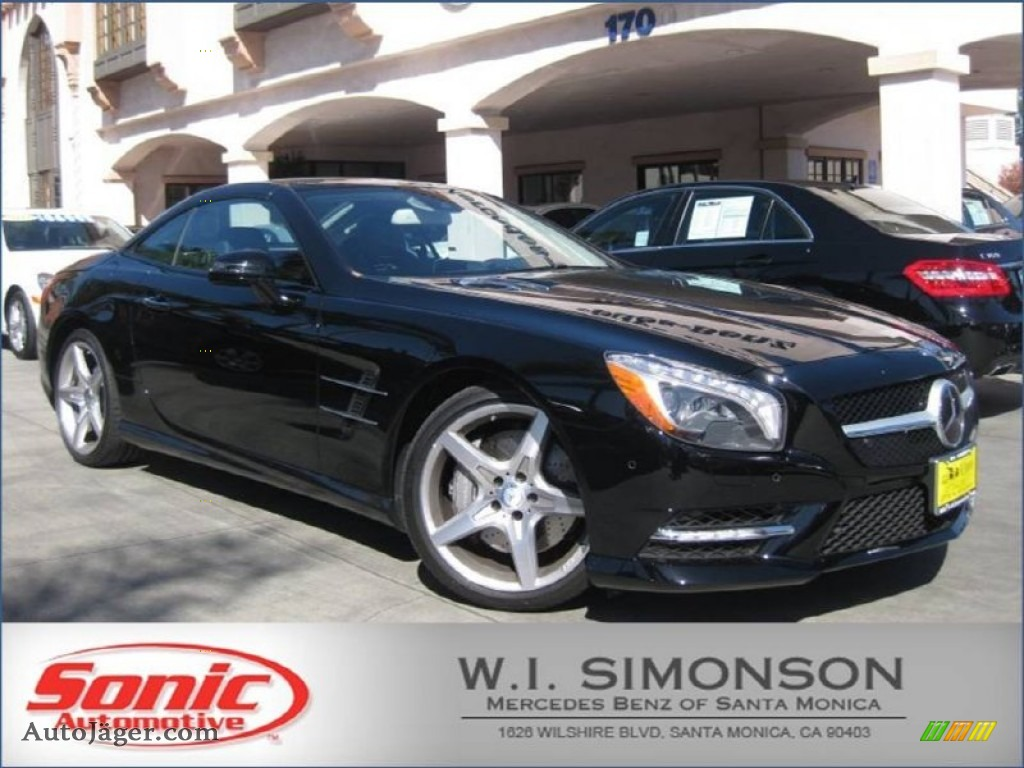 2013 mercedes benz sl 550 roadster in black 001718 for Simonson mercedes benz