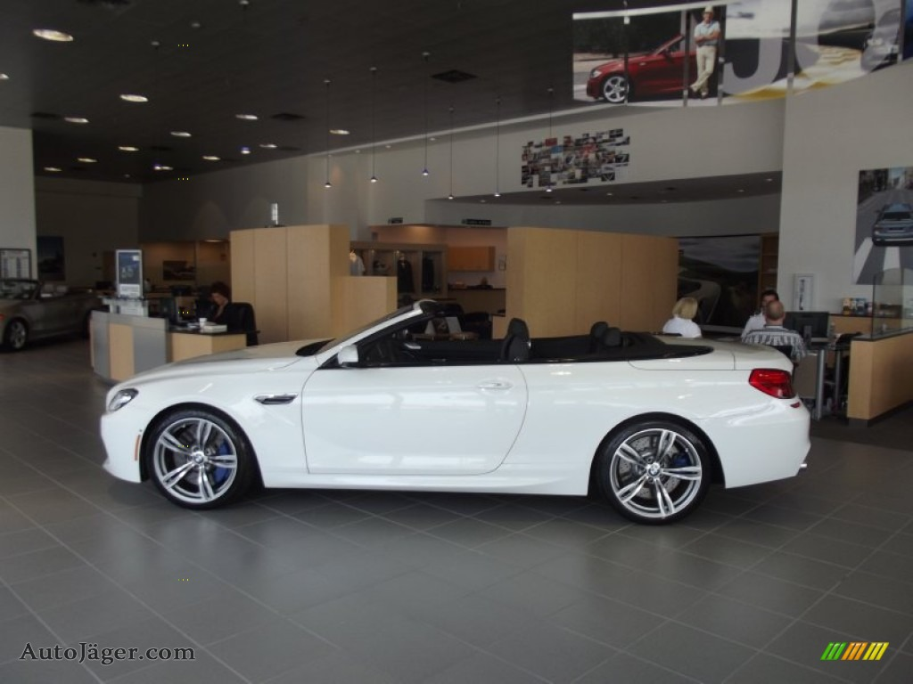 2012 bmw m6 convertible in alpine white photo 5 985667 auto j ger german cars for sale in. Black Bedroom Furniture Sets. Home Design Ideas