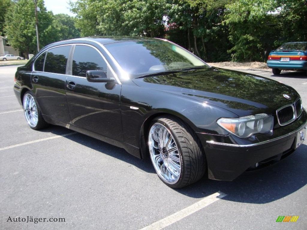 2004 bmw 7 series 745li sedan in jet black photo 8. Black Bedroom Furniture Sets. Home Design Ideas