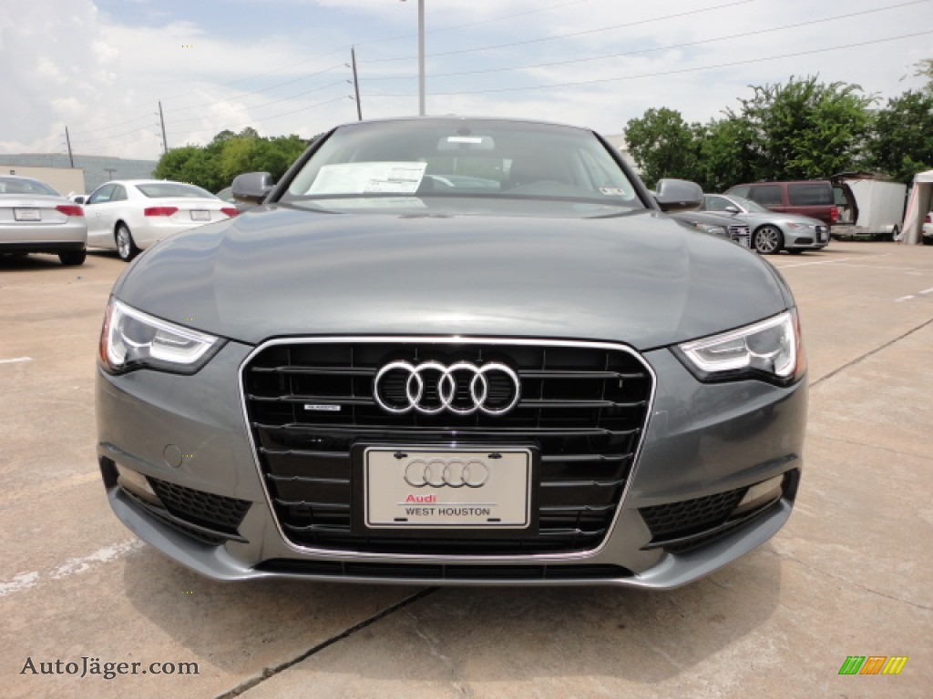 2013 Audi A5 2 0t Quattro Coupe In Monsoon Gray Metallic