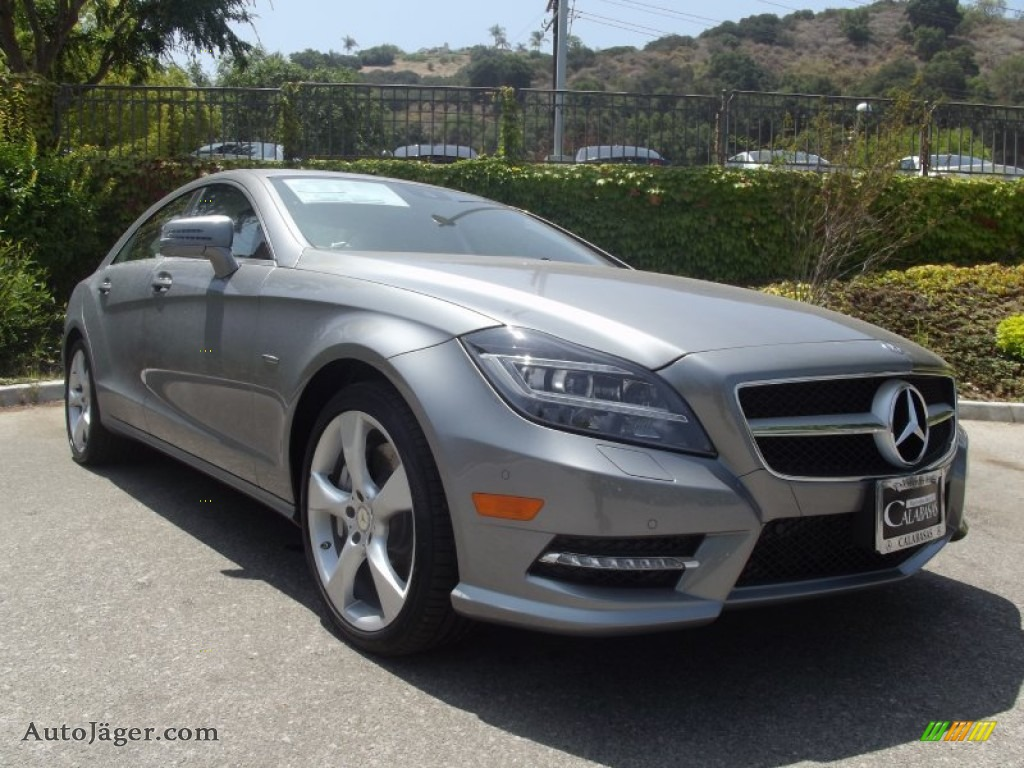 2012 Mercedes Benz Cls 550 Coupe In Palladium Silver