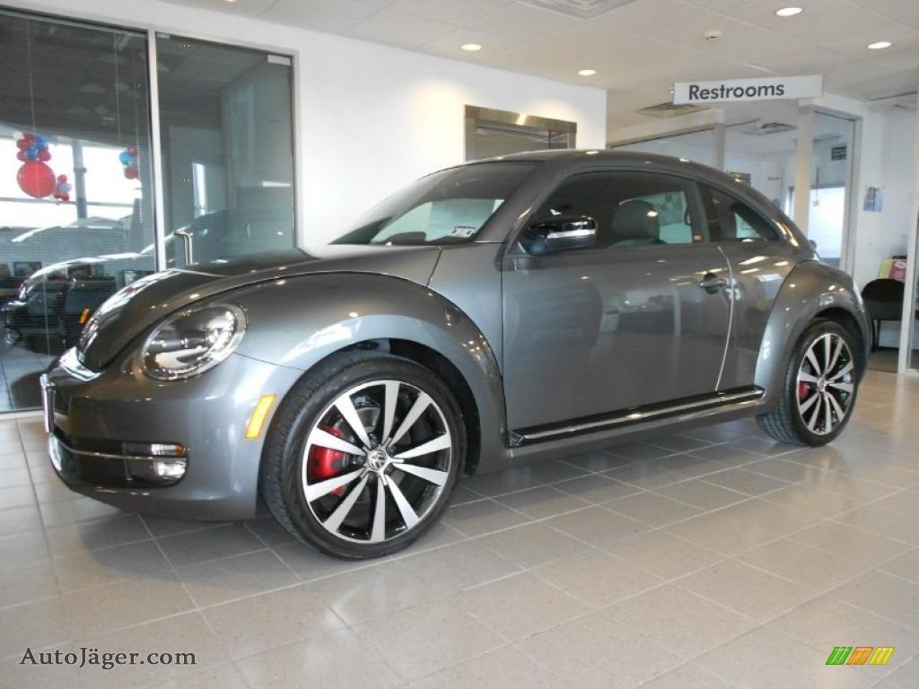 2012 Volkswagen Beetle Turbo In Platinum Gray Metallic 639434 Auto J 228 Ger German Cars For