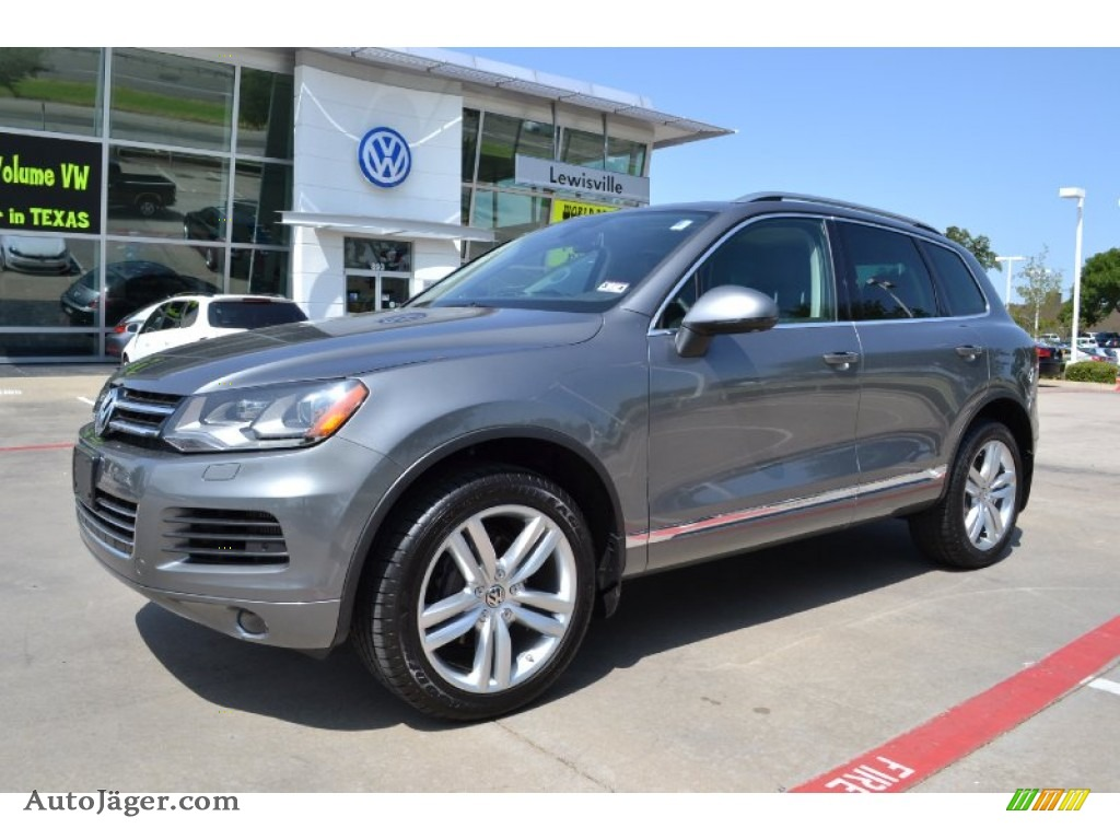 2012 Volkswagen Touareg TDI Executive 4XMotion in Canyon Gray Metallic ...