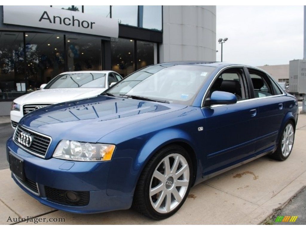 2004 audi a4 3 0 quattro sedan in ocean blue pearl effect 229786 auto j ger german cars. Black Bedroom Furniture Sets. Home Design Ideas