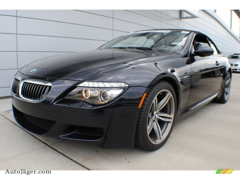 Bmw M6 Carbon: 2009 BMW M6 Convertible In Carbon Black Metallic