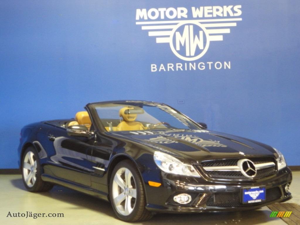 2011 mercedes benz sl 550 roadster in designo mocha for Mercedes benz motor werks barrington