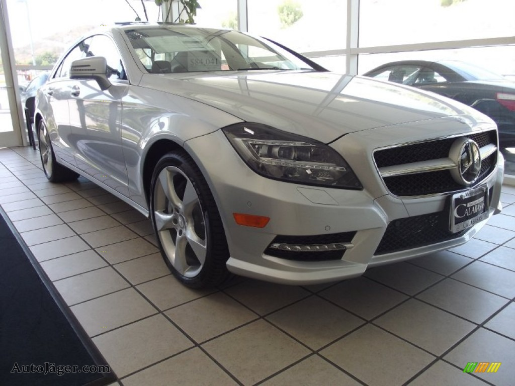 2013 mercedes benz cls 550 coupe in iridium silver for Mercedes benz cls sale