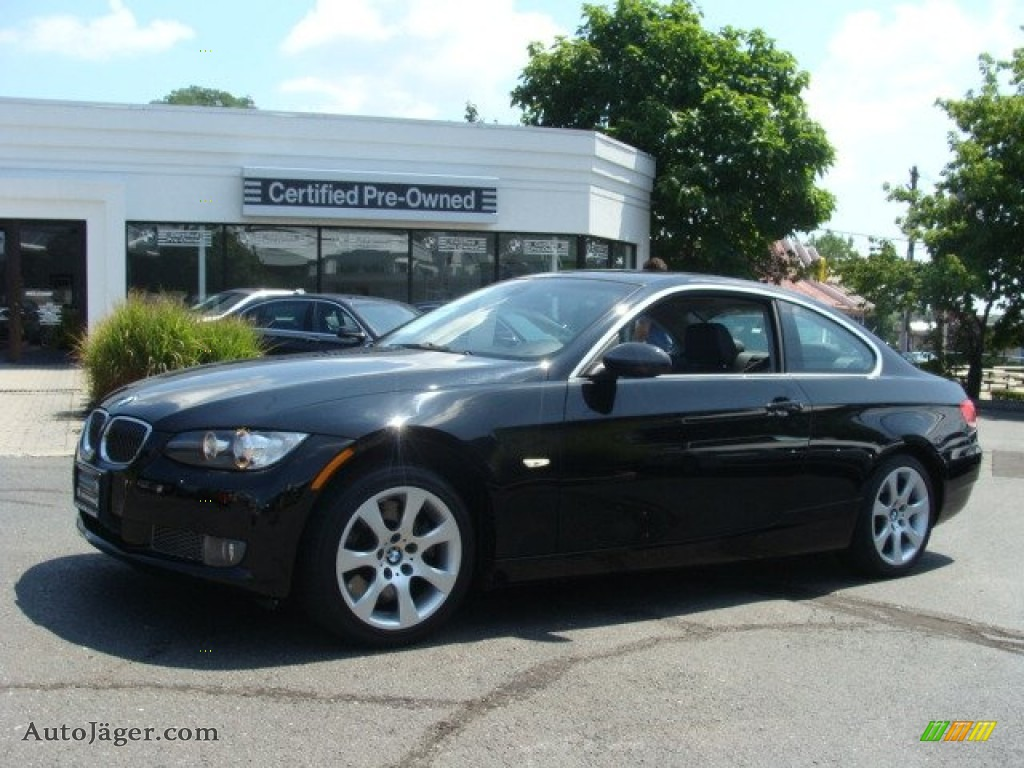 2008 bmw 3 series 335xi coupe in jet black 064460 auto j ger german cars for sale in the us. Black Bedroom Furniture Sets. Home Design Ideas