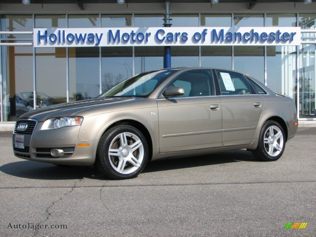 2006 Audi A4 2 0t Quattro Sedan In Dakar Beige Metallic