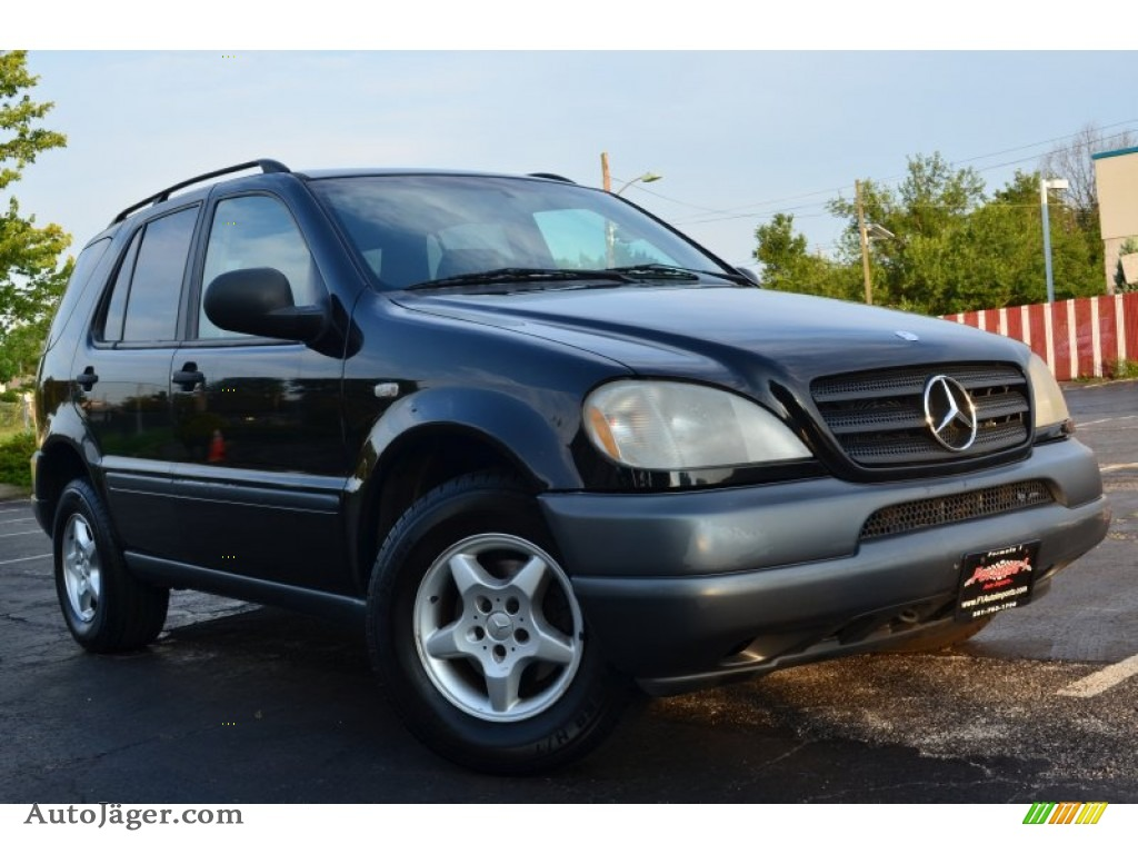 1998 mercedes benz ml 320 4matic in black 022343 auto for Ml320 mercedes benz 1998