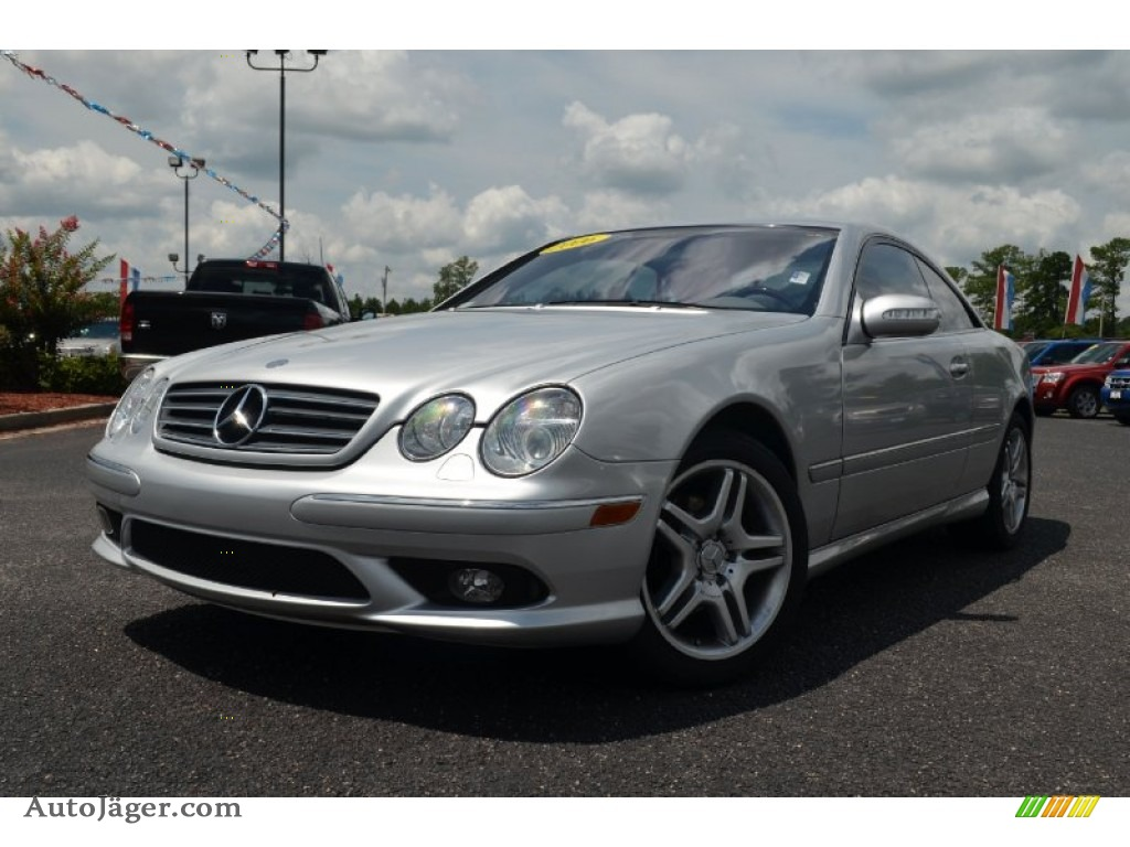 2006 mercedes benz cl 500 in brilliant silver metallic for 2006 mercedes benz cl500 for sale