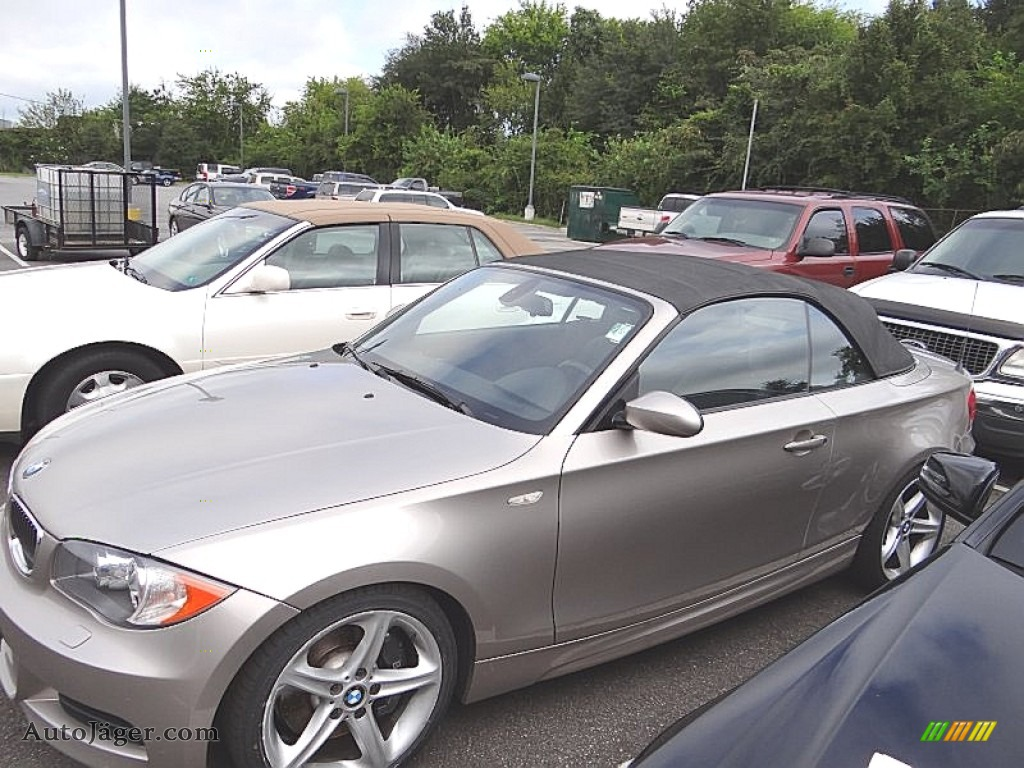 2009 Bmw 1 Series 135i Convertible In Cashmere Silver