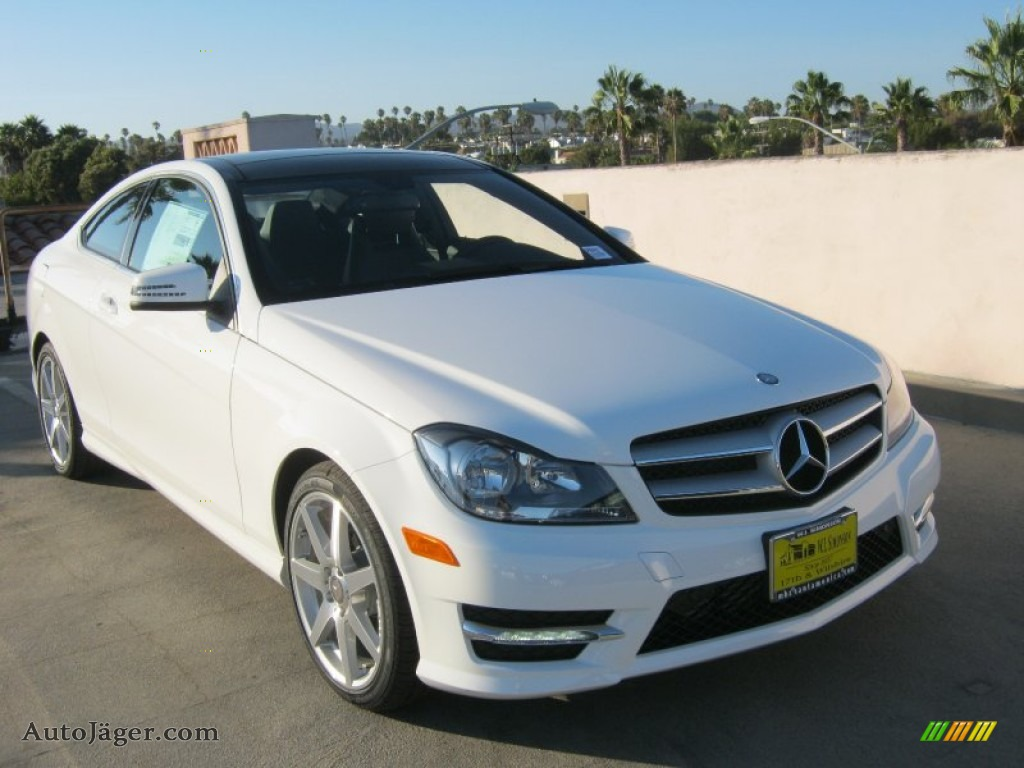 2013 mercedes benz c 250 coupe in polar white photo 3 for Simonson mercedes benz