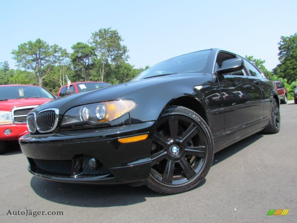 2006 bmw 3 series 325i coupe in jet black l09782 auto. Black Bedroom Furniture Sets. Home Design Ideas