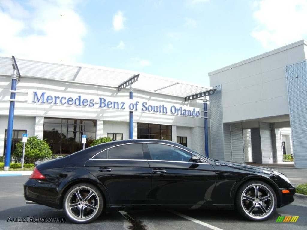 2007 mercedes benz cls 550 in black photo 22 110563 for Simonson mercedes benz