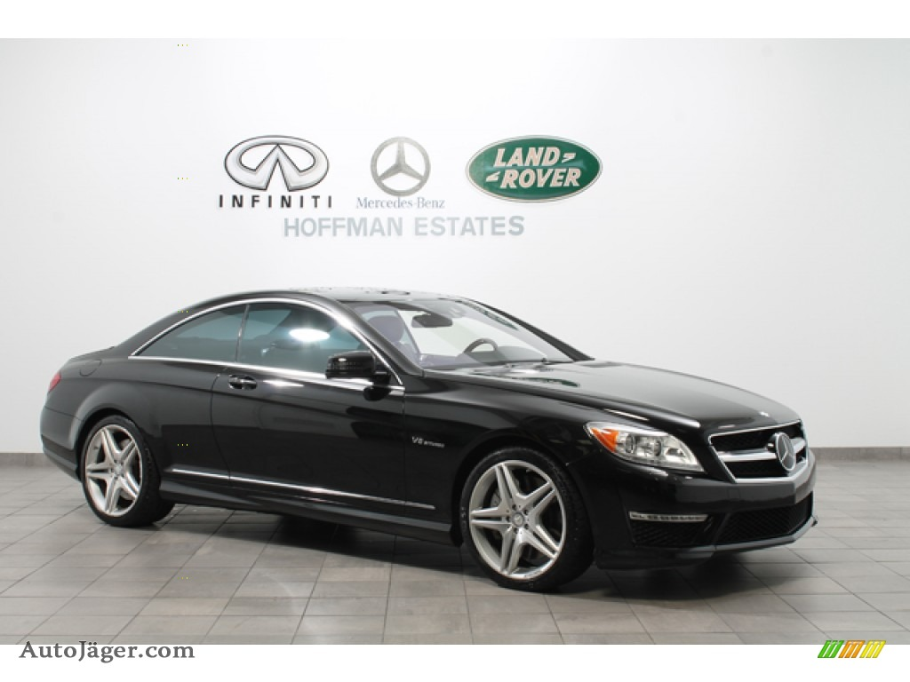 2011 mercedes benz cl 63 amg in obsidian black metallic for Mercedes benz cl 300 for sale