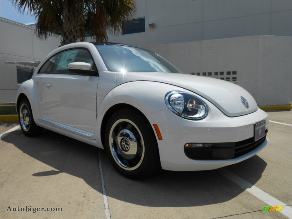 2013 volkswagen beetle 2 5l in candy white photo 23. Black Bedroom Furniture Sets. Home Design Ideas