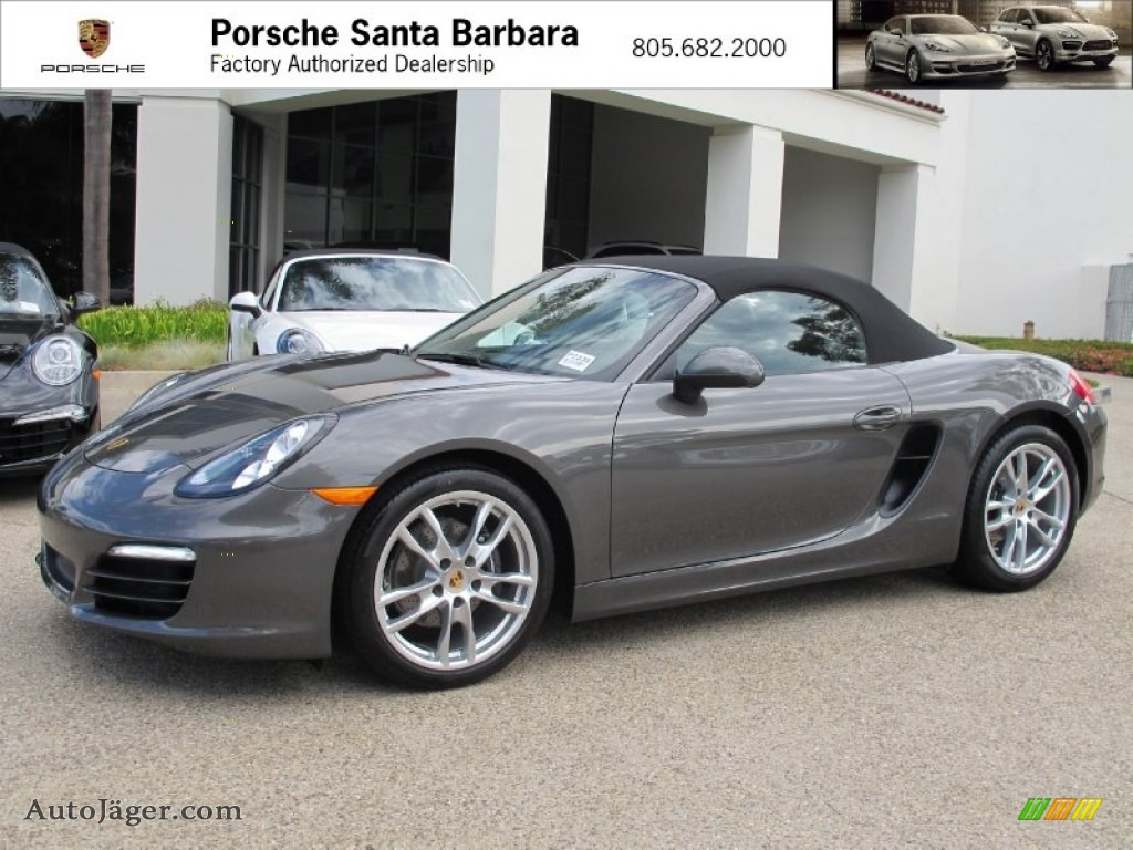 2013 porsche boxster in agate grey metallic 112536 auto j ger german cars for sale in the us. Black Bedroom Furniture Sets. Home Design Ideas