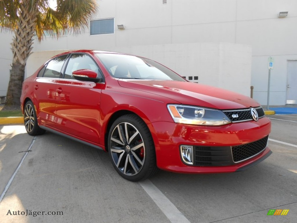2013 volkswagen jetta gli autobahn in tornado red 366536. Black Bedroom Furniture Sets. Home Design Ideas