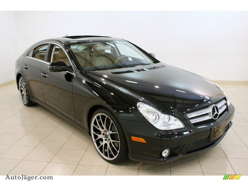 2011 mercedes benz cls 550 in black 172890 auto j ger. Black Bedroom Furniture Sets. Home Design Ideas