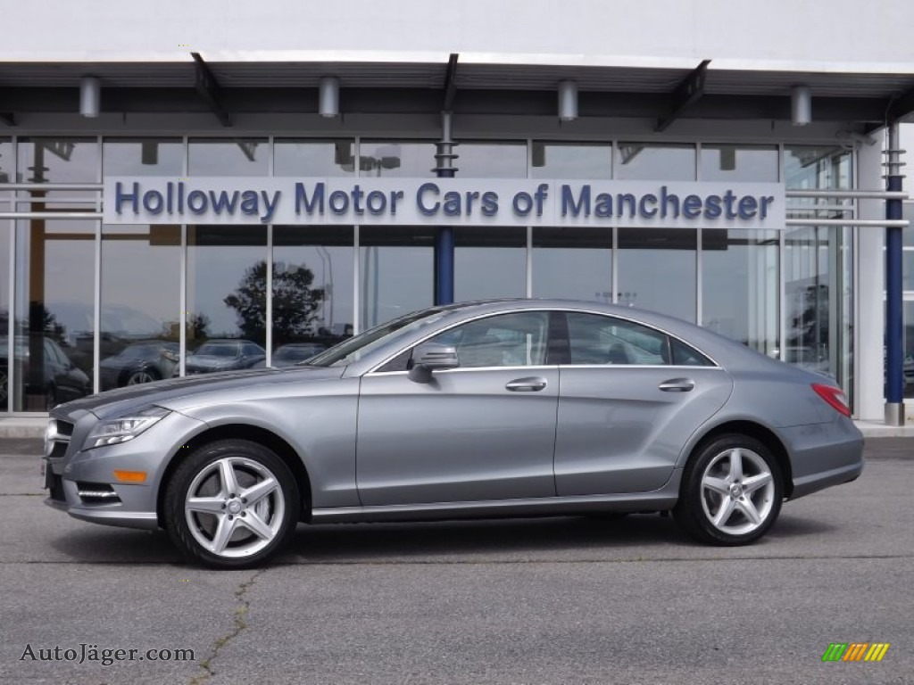 2013 mercedes benz cls 550 4matic coupe in paladium silver for Holloway motor cars manchester