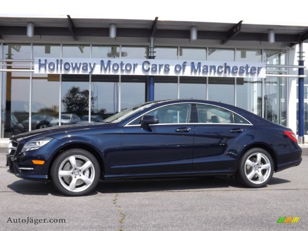 2013 mercedes benz cls 550 4matic coupe in lunar blue for Mercedes benz lunar blue