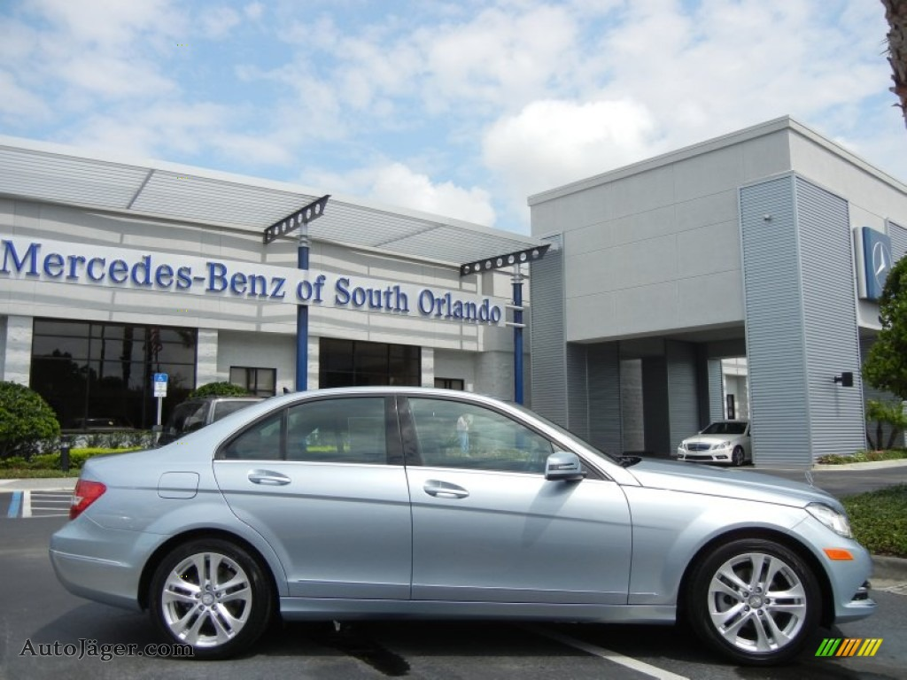 2013 mercedes benz c 250 luxury in diamond silver metallic for Simonson mercedes benz