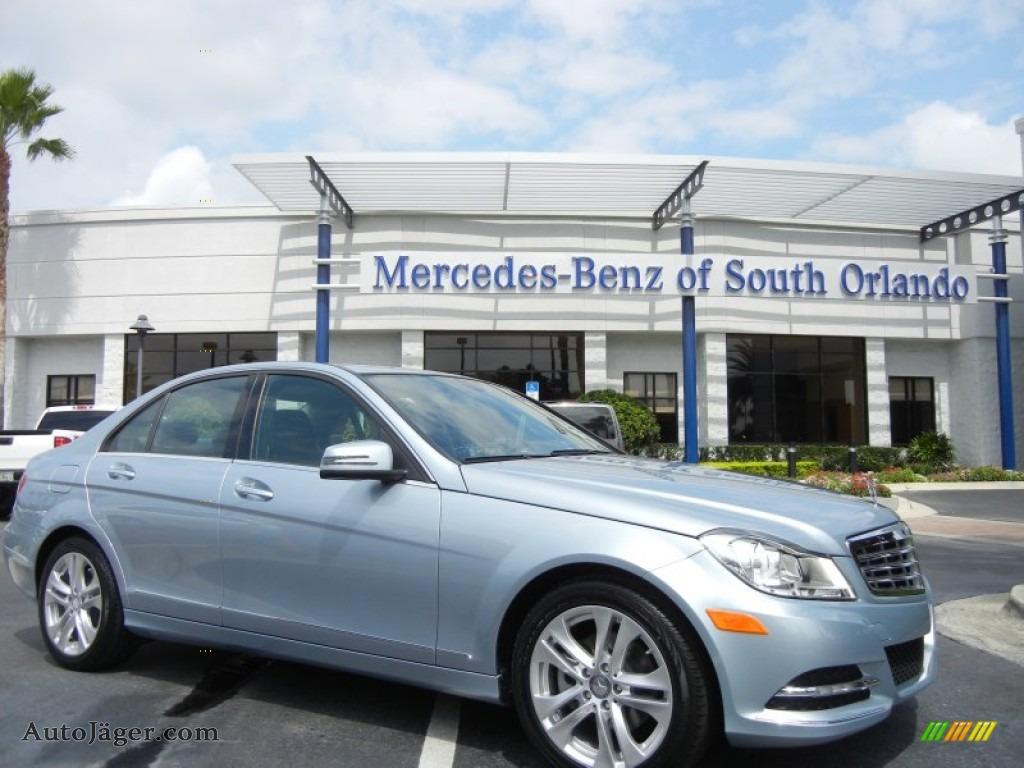 2013 mercedes benz c 250 luxury in diamond silver metallic for Mercedes benz of south orlando orlando fl 32839