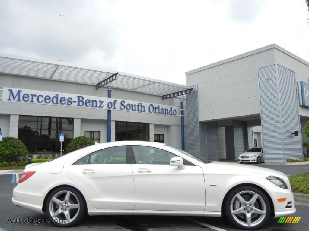 2012 mercedes benz cls 550 coupe in diamond white metallic photo 9 051737 auto j ger. Black Bedroom Furniture Sets. Home Design Ideas