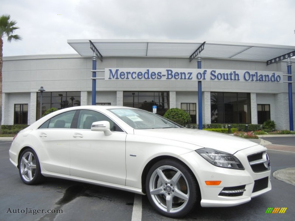 2012 mercedes benz cls 550 coupe in diamond white metallic for Mercedes benz of south orlando orlando fl 32839