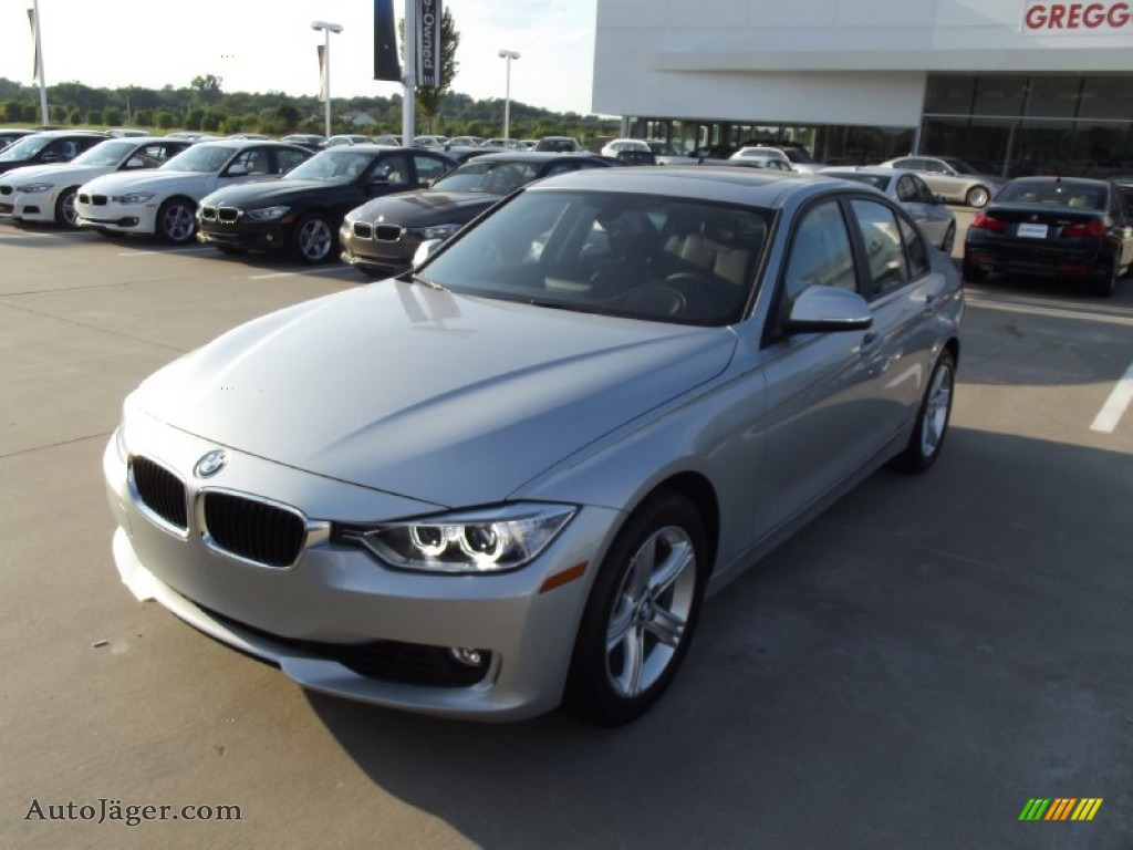 2013 Bmw 3 Series 328i Sedan In Glacier Silver Metallic